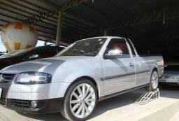 Volkswagen Saveiro g.iv 1.6 mi prata - 2008