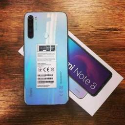 Xiaomi Note 8 64/4 lacrado. Cometa Celular Anápolis