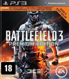 Battlefield 3 Premium Edition Ps3 - Original - Novo