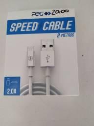 Cabo USB c/ 2netros  CB-008-2M.novo.
