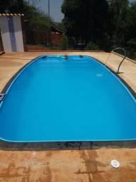 LS - Fique em casa + dentro de uma piscina Alpino Piscina