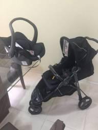 Carrinho Galzerano+ bebê conforto+canguru