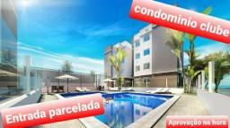 Condomínio clube Araucaria prox ao condor e parque cachoeira ##-entrada parcelada ###