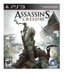 Assassin'S Creed 3 - Ps3 - Original - Novo