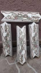 Faixa decorativa em ceramica