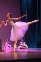 Figurino ballet princesas