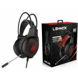 Título do anúncio: Fone de Ouvido Headset Com Microfone Gamer Lehmox GT-F4 USB para PC Xbox PS4