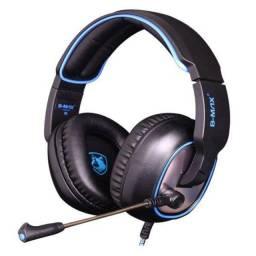 Fone Ouvido Headset Led Gamer 7.1 Usb Microfone Pc Cs Go F17
