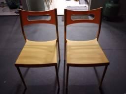 Cadeiras novinhas