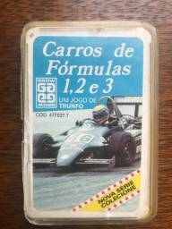 Jogo Trunfo - Carros de Fórmulas 1, 2 e 3 - Cod 4TF037.7