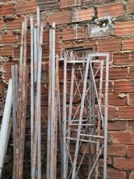 Título do anúncio: Estrutura de ferro para cobrir frente de casa