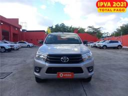 Título do anúncio: Toyota Hilux 2017 2.8 std 4x4 cd 16v diesel 4p manual