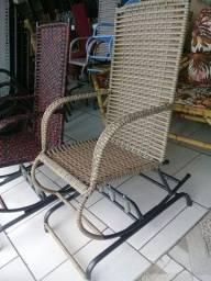 Cadeira de balanço novas várias corres