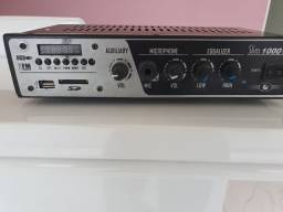 Título do anúncio: Receiver / amplificador som