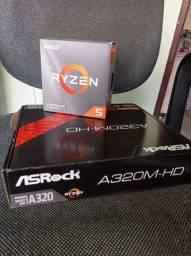 Kit Upgrade Ryzen 5 3500x + A320M-HD