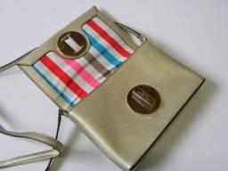 Bolsa Dourada Original Kate Spade - seminova
