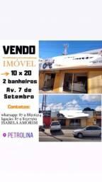 VENDE-SE IMÓVEL NA AV. 7 de Setembro- PETROLINA/PE