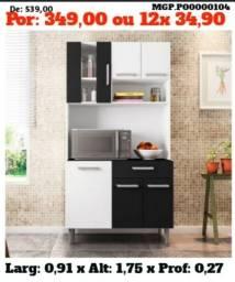 Promoção em MS- Armario de Cozinha- Kit de Cozinha Pequena- Gourmet