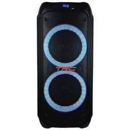 Título do anúncio: Caixa de Som Amplificada TRC 5590 com Bluetooth, Rádio FM e Entrada USB - 1000w<br><br>