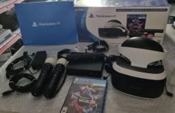 Título do anúncio: PLAYSTATION VR ULTIMO MODELO