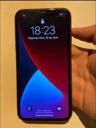 iPhone 11 red 64 gb bateria em 88