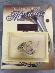 Título do anúncio: Instrumento da Salvat n°14 Trompa em Miniatura