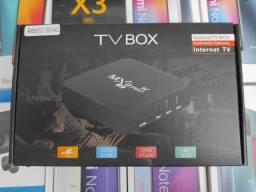 TV BOX MXQ Pro 5G 4k. Centenas de canais e aplicativos ..Lacrado