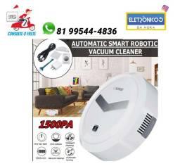 Título do anúncio: Robo Aspirador Po Limpa Casa Limpeza Sensor Clean Automático só zap