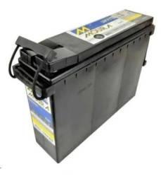 Título do anúncio: Bateria 12V Estacionaria 12MF100 100AH Nobreak, Som solar barco motorhome etc