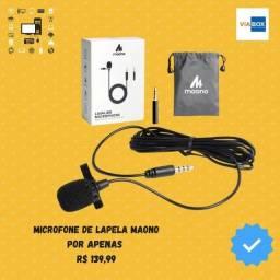 Microfone de Lapela Maono - Novos