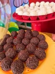 Brigadeiro e doces de festas em geral