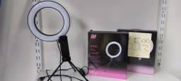 Título do anúncio: Ring Light de mesa com porta celular e tripé