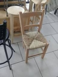 Cadeira novas avulso acento de palha