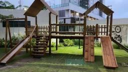 Apartamento Mobiliado 2 Quartos no (Trigésimo andar)Alto padrão no Aurora Trend