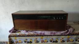 Rádio Vitrola Philips 3 rotações 1968 Raridade Colecionador