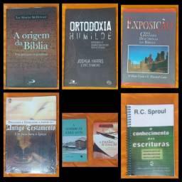 Kit livros Evangélicos + brinde livro A doutrina da igreja local! Leia o anúncio!