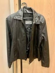 Título do anúncio: Jaqueta de couro usada