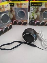 Título do anúncio: Caixinha de som mini speaker Bluetooth Exclusiva 6 apoios