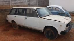 Lada Laika SW (perua) 1990/1991 1.5 Sucata (ideal para restauradores de Lada Laika SW)