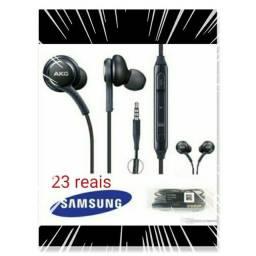 Fone de ouvido Samsung Akg PRETO OU BRANCO
