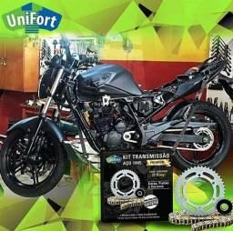 Kit Transmissão Retentorizado, Premium Aço 1045, Unifort