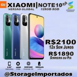 Título do anúncio: Note 10  5G 128Gb 8Gb Ram Lacrado 12x Sem Juros com nota e garantia