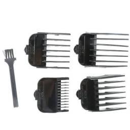 Vendo ou troco kit pentes maquina de cortar cabelos n° 3, 4 kit barbeiro, cabeleireiro