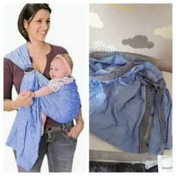 Sling (carregador de bebê) com argola