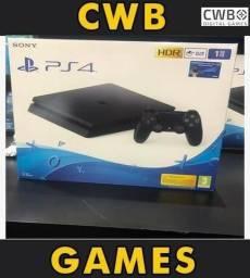Playstation 4 1 tera byte,Novo Com Garantia loja fisica -Ps4