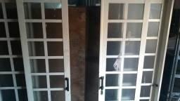 Porta de correr de ferro 2x2,14