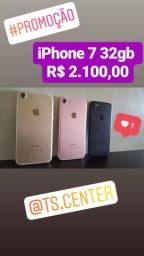 NOVO!! iPhone 7 32gb todas cores