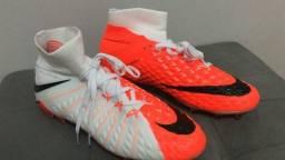 Nike hypervenom phantom iii fg - laranja/branca