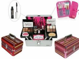 Maleta +kit Maquiagem Completo Ruby Rose Luisance Brinde