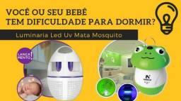 Luminaria Led Uv - Mata Mosquito, Dengue, Pernilongos, Zika